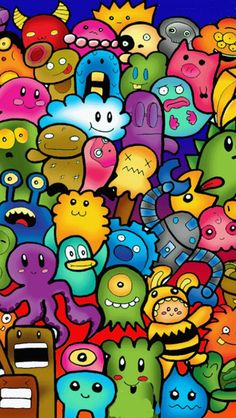 Boring time :d doodle characters, graffiti characters, cartoon characters, doodle monster, Graffiti Art, Graffiti Doodles, Graffiti Wallpaper, Graffiti Drawing, Cartoon Graffiti, Cute Doodle Art, Doodle Art Designs, Doodle Art Drawing, Art Drawings