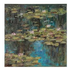 Canvas Signs, Water Lilies, Antique Books, Oil Painting On Canvas, Wall Art Decor, Art Pieces, Abstract, Antiques, Drawings