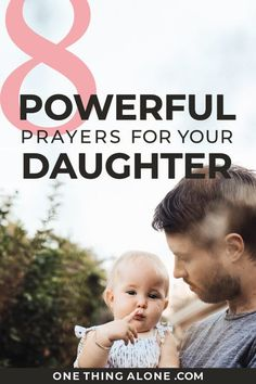 Do you love praying for your daughter and asking God to guide her life? Don't miss these powerful prayers for daughters as you trust God with her life. These prayers will guide you in raising girls with biblical truths, too. Prayer For Daughter, Prayer For Today, Prayer For Family, Raising Godly Children, Raising Girls, Powerful Prayers, Powerful Words, Prayer Times, Prayer Warrior