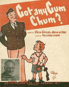 15 Vintage Chewing Gum Ads ~ Got any gum chum