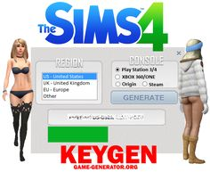 The Sims 4 KEYGEN Tool  Do not mis this opportunity, get The Sims 4 KEYGEN Tool and generate WORKING key and play sims ONLINE.