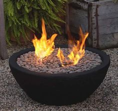 table top fire bowl how-to