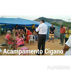 Reunião realizada no acampamento cigano, na cidade Santana do Paraíso, MG.  (null) Feito com o Flipagram - http://flipagram.com/f/d90BAu8ktD
