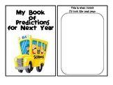 Predicting Next Year Mini Book