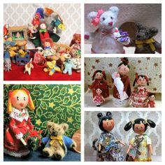 Dollhouse Gold Suede Micro Bear World Miniature Bears Tiny 1:12 Miniatures Teddy