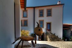 Passado de Pedra in Caria is a very quaint rural hotel in an old village in central Portugal.  The owner, Graca, is an extraordinary hostess and extremely knowledgeable about history and activities in the area.  #Portugal