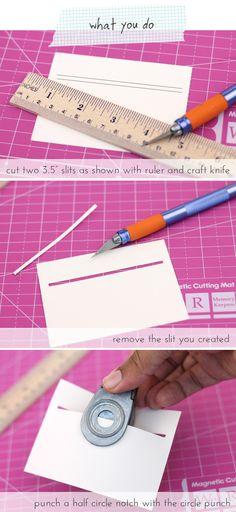 Easy Gift Card Pockets   Damask Love