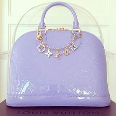 Pinterest:@jordanlanai lavender Louie vuitton Pinterest:@JORDANLANAI