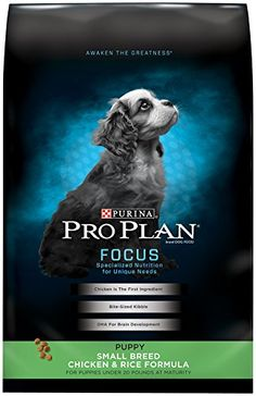 Purina Pro Plan Dry Dog Food, Focus, Puppy Small Breed Ch... http://www.amazon.com/dp/B002VFPBX8/ref=cm_sw_r_pi_dp_3Jppxb1BAR2F0