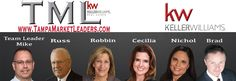 New Website Cover Tampa Market Leaders-Keller Williams South Shore. Serving Tampa Area Real Estate Needs