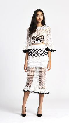 alice McCALL It's My Turn Skirt White