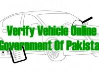 Verify Vehicle Online – Government Of Pakistan