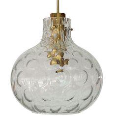 MBR: Textured Globe Pendant | 1stdibs.com