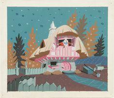 Mary Blair - White Rabbit's House - <3