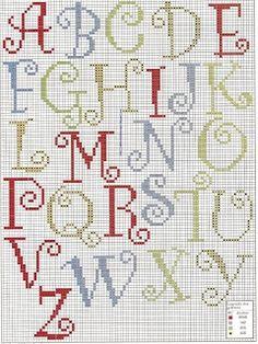 Alphabet   Filet crochet alphabet   Pinterest