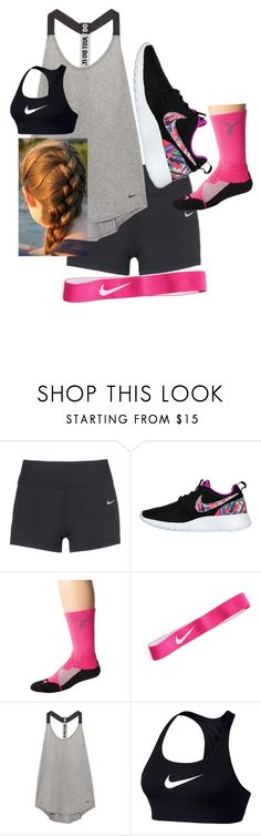 """""""School Outfit"""" by chloefaust on Polyvore featuring NIKE"""