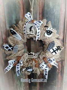 Grapevine Wreath, Burlap Wreath, Delft, Diy And Crafts, December, Easter, Diys, Wreaths, Entertaining