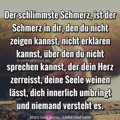 Der schlimmste schmerz ist der schmerz in dir journey of a thousand miles marketplace art print Sad Quotes, Love Quotes, Sad Sayings, German Quotes, Depression Quotes, How I Feel, True Words, In My Feelings, Deep Thoughts