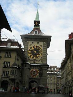 Torre Zytglogge en Berna, Suiza