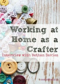 Working at Home as a Crafter