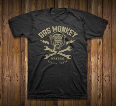 Gas Monkey Bar n Grill tee