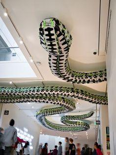 Snake Ceiling, 2009, Ai Weiwei, Beijing