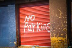 No Parking Daniel Photography, Daniel Sports & Event Photography, by Michael Daniel Event Photography, Blinds, Windows, Architecture, Wall, House, Home Decor, Sports, Red