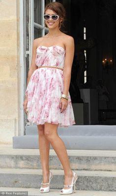 Jessica Alba summer dress
