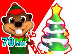 """""""Christmas is Coming"""" Collection   Busy Beavers Special 70 Min, Kids Songs Compilation, Baby Fun - YouTube"""