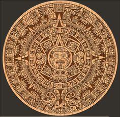 Did you know that about the Maya Calendar? Aztec Tattoos Sleeve, Astronomical Calendar, Arte Sci Fi, Aztec Calendar, Pin Up Posters, Mexico Art, Aztec Art, Ornaments Design, Historical Art