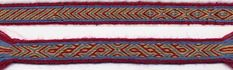 Sample 3: three-colour band with border on a very good tutorial page. http://www.shelaghlewins.com/tablet_weaving/TW01/TW01.htm