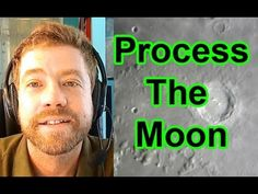 Planetary Imaging & Processing - Process The Moon Registax Photoshop - P6