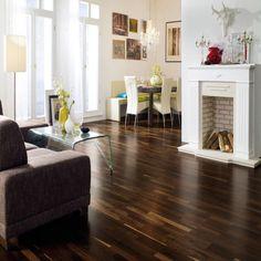 Smoked Oak Laminate Flooring
