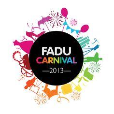 FADU Carnival 2013 event logo design