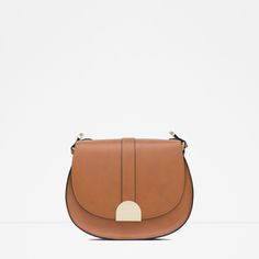 Image 1 of MESSENGER BAG WITH METAL FASTENING from Zara