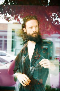 � - The Cut.  Father John Misty in Dries Van Noten silk shirt