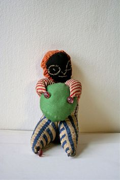 Antique Folk Art Pin Cushion