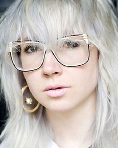 #Greyhair with glasses