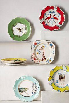 Lou Rota Nature Table Dessert Plate