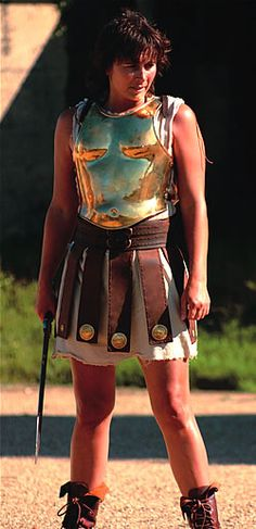 "A search for ""gladiatrix"" turned up very few sfw images.  But I do like the skirt on this one."