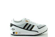 Details Zu Adidas La Trainer Ii Big Logo Herren Sneaker Schuhe Weiß