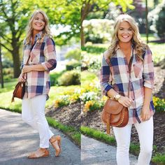 Instagram~ @whatcourtwore// Plaid Tunic from The Pink Lilly Boutique// Outfit details- www.liketk.it/2mawH