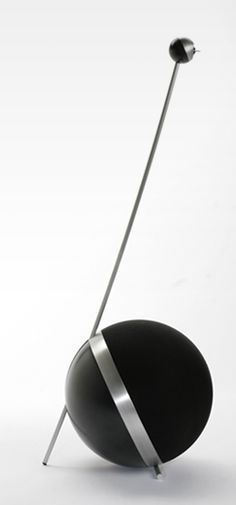 Boston Aire Speaker System by MaDe - Based on a new patented audio technology, MaDe was asked to design a new typology of a premium sound installation. Low and mid tones close to the ground and the high tones elevated at ear level, shaped in a new iconic form language. The spherical volumes add to an uncompromised sound experience.