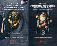 Westfield San Francisco Center brought Eva Kolenko and team in to create appetite appeal for an array of eatery choices at the mall through some beautiful food porn, and as you can see, the effort succeeded. CD: Peter Donnelly; Sr. Designer: Phuong Ngyuen…