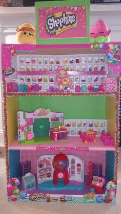 Shopkins dollhouse by Melissa Rogers