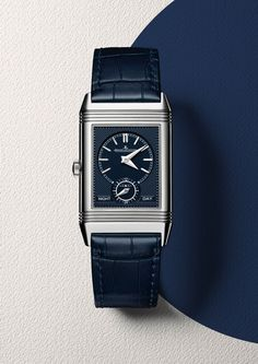 The @jlcwatches Reverso Tribute Duo comes in a stainless steel case measuring…