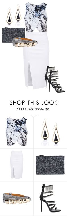 """""""#6"""" by dailyfashionblogger on Polyvore featuring Topshop, Friis & Company, Giuseppe Zanotti, women's clothing, women, female, woman, misses and juniors"""