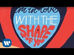 Ed Sheeran - Shape Of You [Official Lyric Video] - YouTube. Ugh can he do anything wrong?! So incredibly happy he is back!
