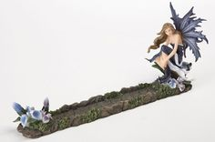 Blue Fairy Incense Holder