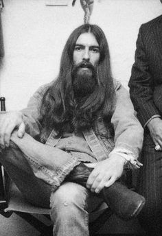 George and his beautiful hair